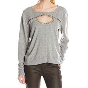 GYPSY05 studded sweatshirt